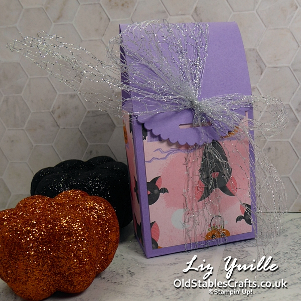 Christmas and Halloween Box Idea for Stamp N' Hop OldStablesCrafts.co.uk