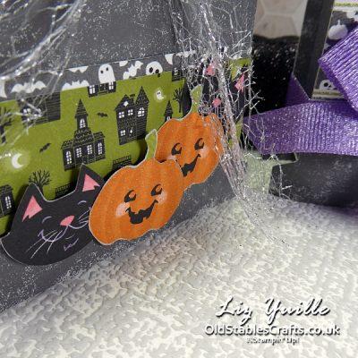 Trick or Treat Week - Cute Halloween Tombstone gift box OldStablesCrafts.co.uk