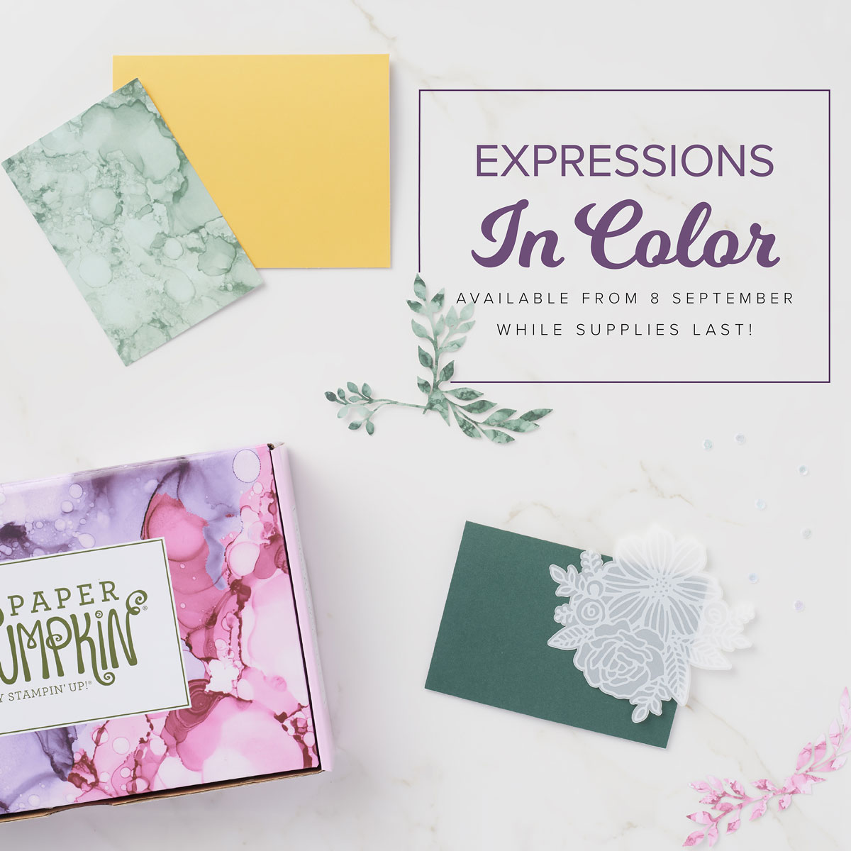 Expressions in Colour Paper Pumpkin Unboxing and Making OldStablesCrafts.co.uk