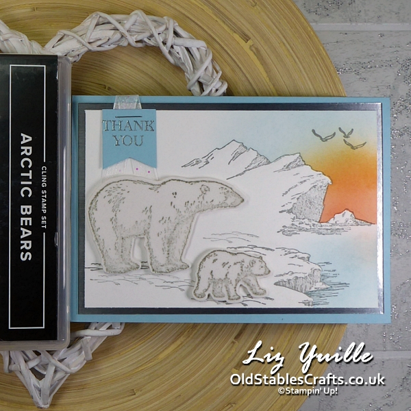#SimpleStamping Saturday Featuring Artic Bears OldStablesCrafts.co.uk