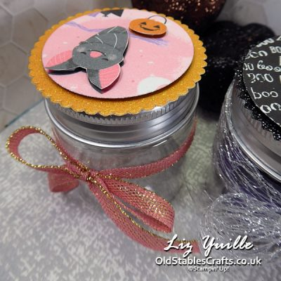 Trick or Treat Week - Quick and Simple Mini Jam Jar OldStablesCrafts.co.uk